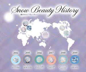 年に一度の限定品『資生堂 スノービューティー』の歴代デザインが美しすぎる!2020年は日本の雪がモデルに!